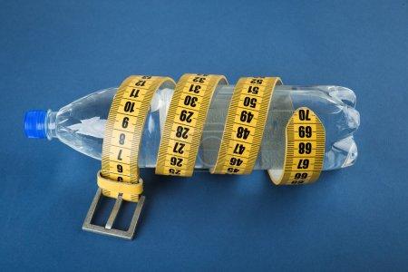 Yellow meter belt slimming
