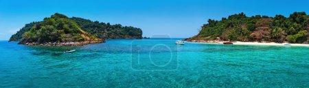 Tropical island in Thailand