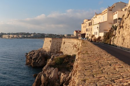 Medieval fortress at Antibes