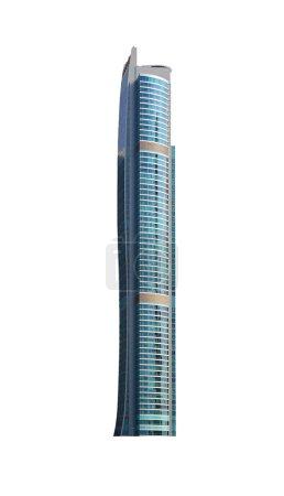 Modern high-rise office building
