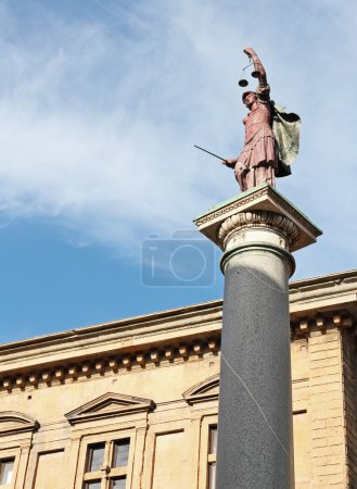 Column of justice in Florence