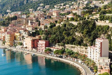 Panoramic view of Cote d'Azur