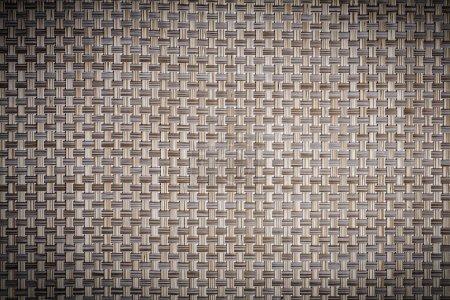 old wicker mat texture