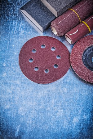 Composition of abrasive materials