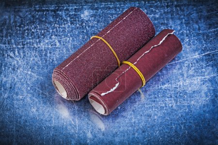Rolled sandpaper, abrasive tools