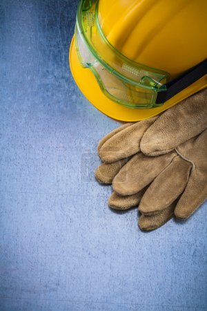 safety working gloves, building helmet