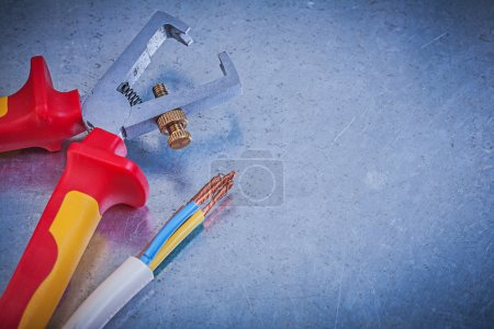 insulation strippers, electrical wires