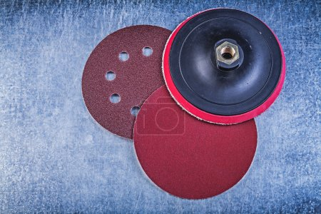 Sanding discs holder