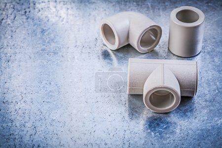 Plastic pipe connectors