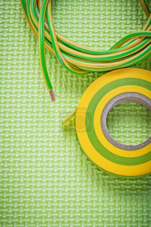 Insulation tape and electric wires