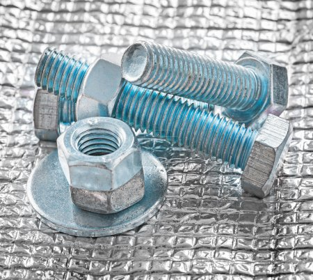 Collection of stainless repairing objects