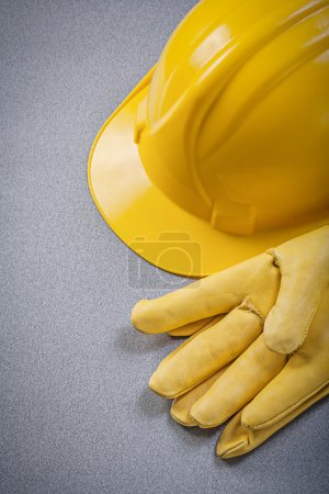 Protective gloves and building helmet
