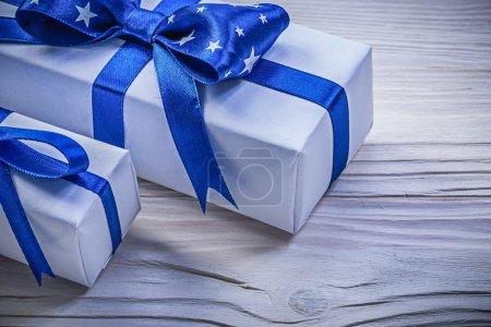 Assortment of present boxes