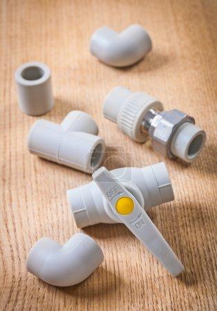 Plastical plumbing fixtures
