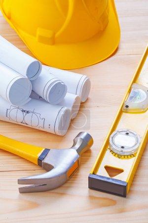 Claw hammer, blueprints