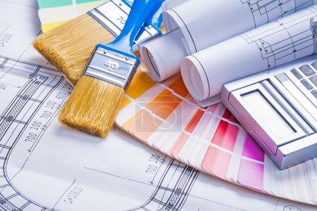 Construction paint concept