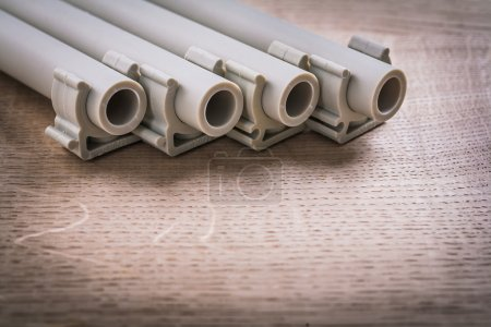 Polypropylene Pipes With Clips