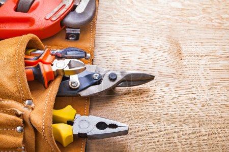 Set of tools in tollbelt