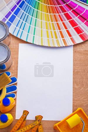 Collection of paint tools