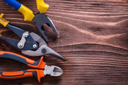 Nippers, pliers and wire-cutter
