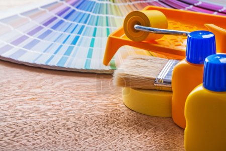 Pan tone fan and home improvement paint tools