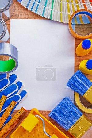 Repair tools and pan tone color palette guide