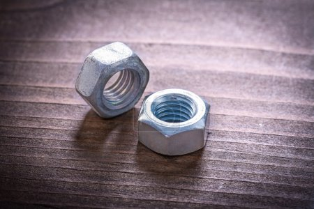 Stainless threaded screw nuts