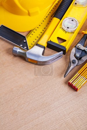 set of building working tools