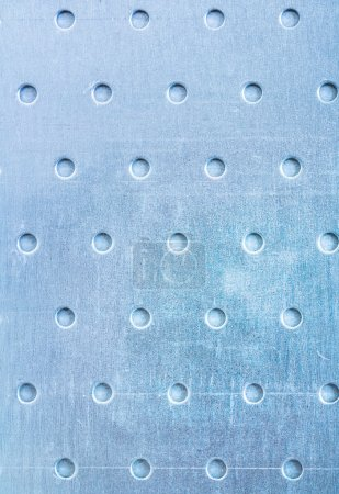 Drilled stainless sheet