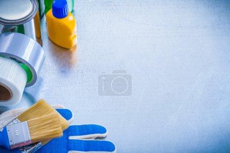 Construction paint articles
