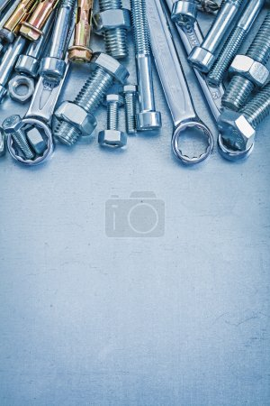 Composition of metal repairing tools