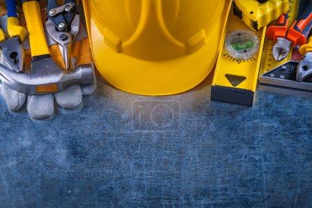 Big toolset, construction concept.