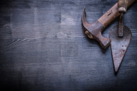 Caw hammer and putty knife