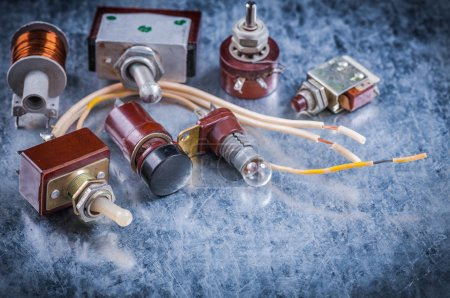 vintage electrical equipment