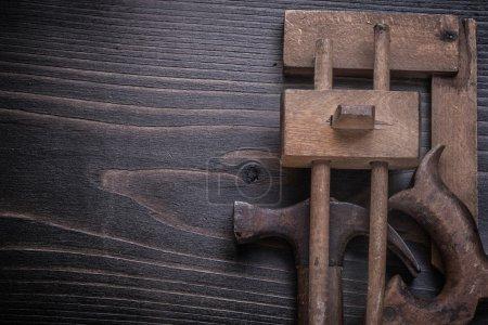 Rostiges Werkzeugset