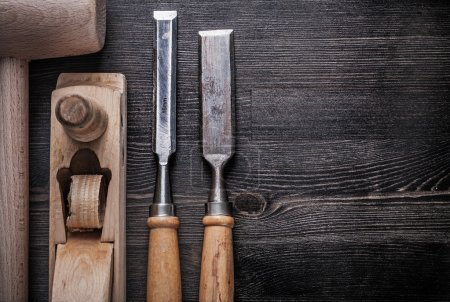 Set of carpenter tools