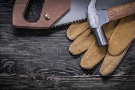 Set of house improvement tools