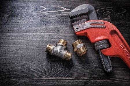 Monkey wrench, plumbing fittings
