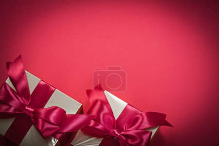 holiday present boxes
