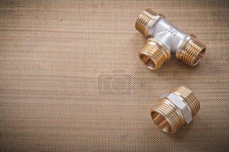 Plumber fixtures pipe fittings