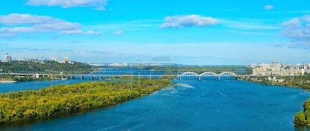 Kiev panoramic view, Ukraine