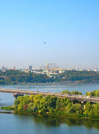 Kiev from above, Ukraine
