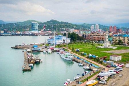 Sea port of Batumi, Georgia