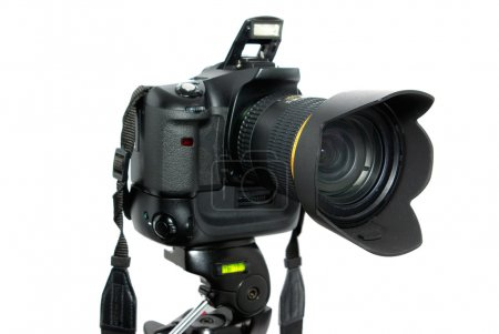 Digital camera on wwhite