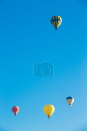 Air balloons flying at Cappadocia