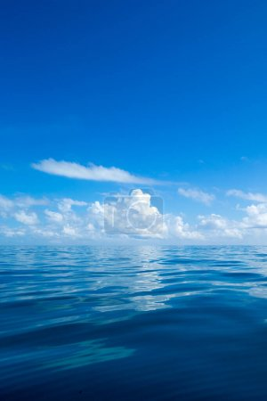 Photo for Tropical sea under the blue sky. Sea landscape. - Royalty Free Image