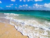 Sea under the blue sky