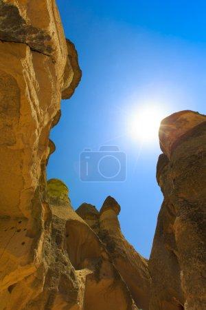 Formations in Capadocia, Turkey