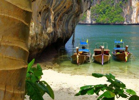 Boats in andaman sea ,Thailand