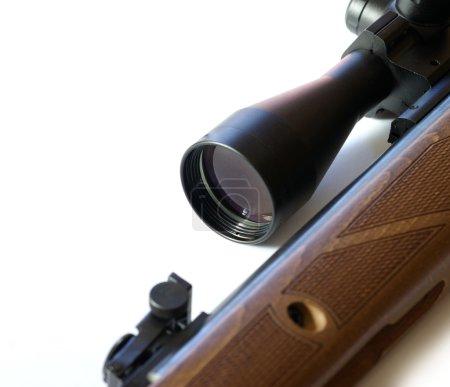 Modern military sniper rifle